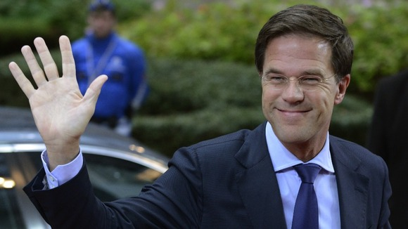 Dutch Prime Minister, Mark Rutte