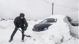 Motorists stranded overnight as arctic weather continues