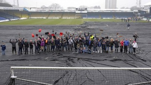Pitch perfect as Shrimpers fans save game from weather