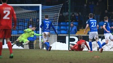 Loughgall sprang a shock at Mourneview Park.