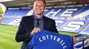 Steve Cotterill in happier times