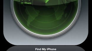 The 'Find My iPhone' app