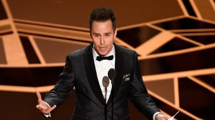 Best Supporting Actor Sam Rockwell also showed his support.