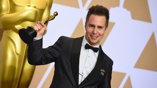 Sam Rockwell picked up the gong for Best Supporting Actor.