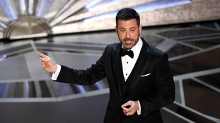 Host Jimmy Kimmel referenced Harvey Weinstein at the Oscars.