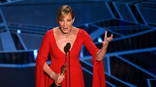 Allison Janney won best supporting actress.