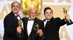 The Dunkirk team picked up three Oscars.