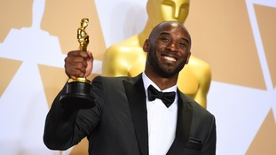 Basketball's Kobe Bryant is now an Oscar winner.