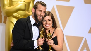 Chris Overton and Rachel Shenton both picked up an Oscar.