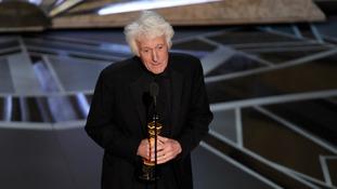 Cinematographer Roger Deakins won an Oscar for Blade Runner 2049.