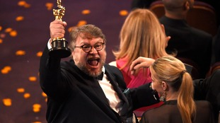 Guillermo del Toro came away with Best Director.