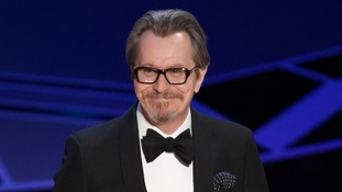 Gary Oldman wins best actor for Winston Churchill role as British stars triumph at Oscars
