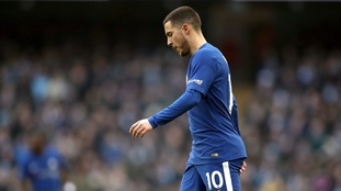 Eden Hazard - We could have played on for hours against Man City and I wouldn't have touched the ball
