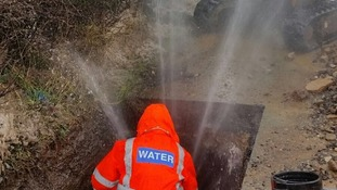 Freezing weather causes 'unprecedented' number of burst water pipes