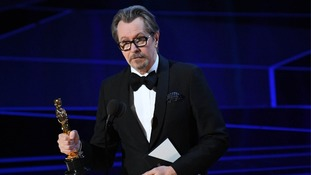 Gary Oldman thanked his mum in his acceptance speech.