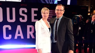 Robin Wright and Kevin Spacey