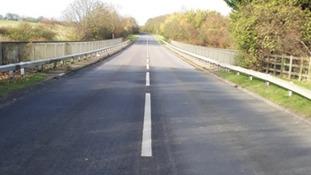 The Norton Road bridge connects Baldock and Letchworth.
