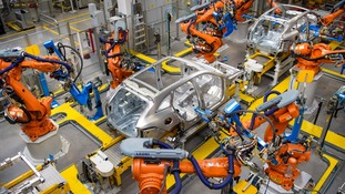 Jaguar Land Rover confirmed it had temporarily stopped production at its Solihull plant.