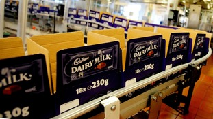 Cadbury has reduced activity as its Bournville factory in Bormingham.