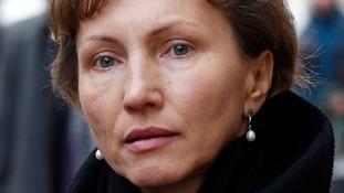 Marina Litvinenko told BBC Radio 4's World Tonight: