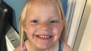Family pay tribute to 7 year old Maisie Duncan killed in Looe