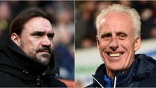 Daniel Farke and Mick McCarthy are ready for midweek Championship action