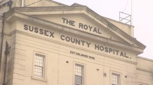 Critical incident declared at Brighton hospital