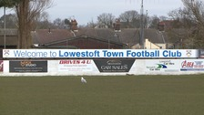 Lowestoft Town's home ground, Crown Meadow