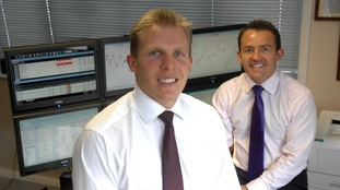 Russell Taylor (left) and Alan Taylor (right)