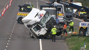 The M1 pile-up killed eight and seriously injured four people.