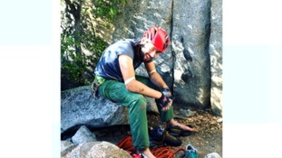 Cheltenham climber died saving wife from rockfall
