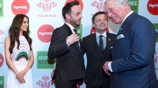 Ant and Dec and Cheryl were among the celebrities at the Prince's Trust awards