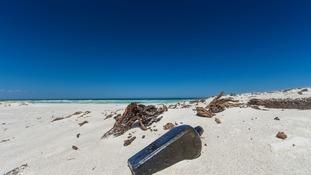 World's oldest-known message in a bottle found on Australian beach