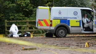 Officer 'laughed on school run' after killing wife, court hears
