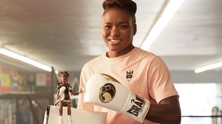 Nicola Adams 'boxer Barbie' unveiled as part of Mattel's inspiring dolls range