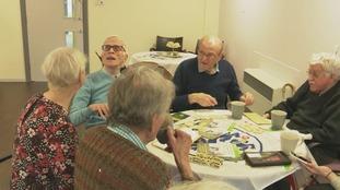 Group of ex-service veterans