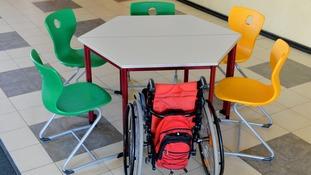 Wheelchair pupil