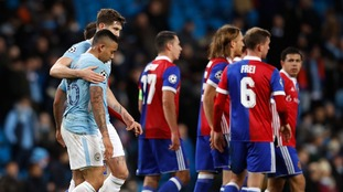 Manchester City progress to the quarter-finals of the Champions League despite defeat to Basel