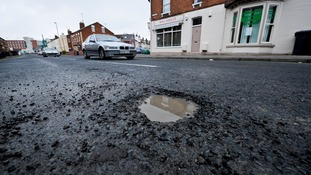 Freezing weather will lead to spike in UK potholes, motoring experts warn