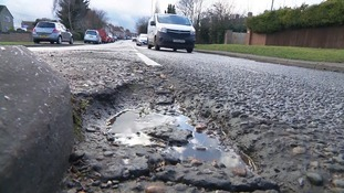 Freezing weather will lead to spike in potholes warns motoring experts