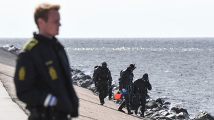 Divers later uncovered body parts that had been weighed down in the sea