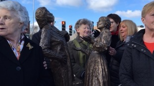 Cracker Packer statue unveiled in Carlisle