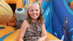 Girl struck by runaway wheel on her way to school has died