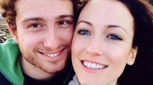 Dr Mark Sims with his fiancee