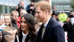 Prince Harry and Meghan Markle visit Birmingham to support young women