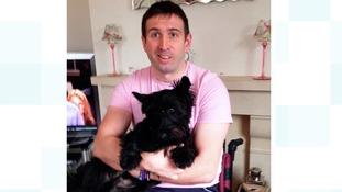 Ben and his dog Mac.