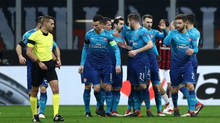 Much improved Arsenal earn important first-leg advantage in Milan