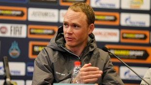 Chris Froome tells UCI Chief David Lappartient to 'raise his concerns in person' and not through the media