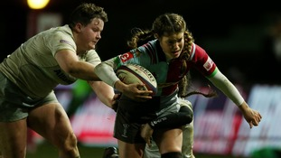 Harlequins women to play in front of record crowd