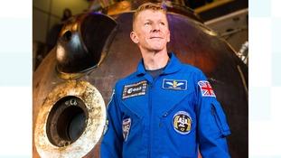 Tim Peake's spacecraft to land in Peterborough